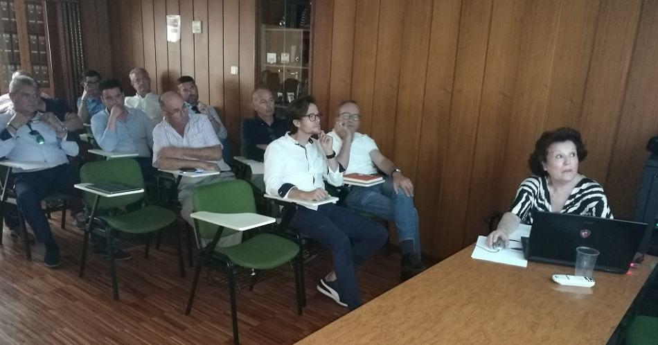 Presentación de la FMY2018 en la sede del Colegio de Agentes comerciales de Murcia