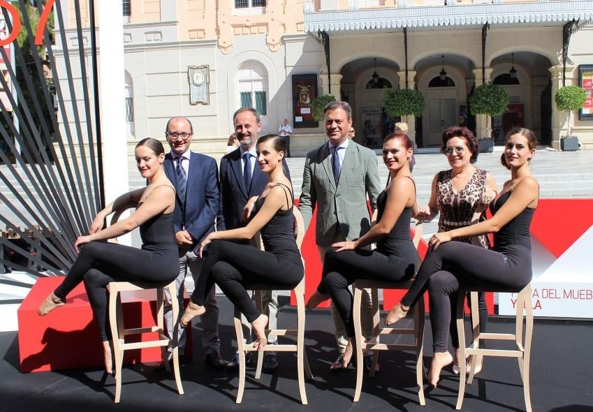 Feria del Mueble Yecla 2018 presentando el certamen en Murcia
