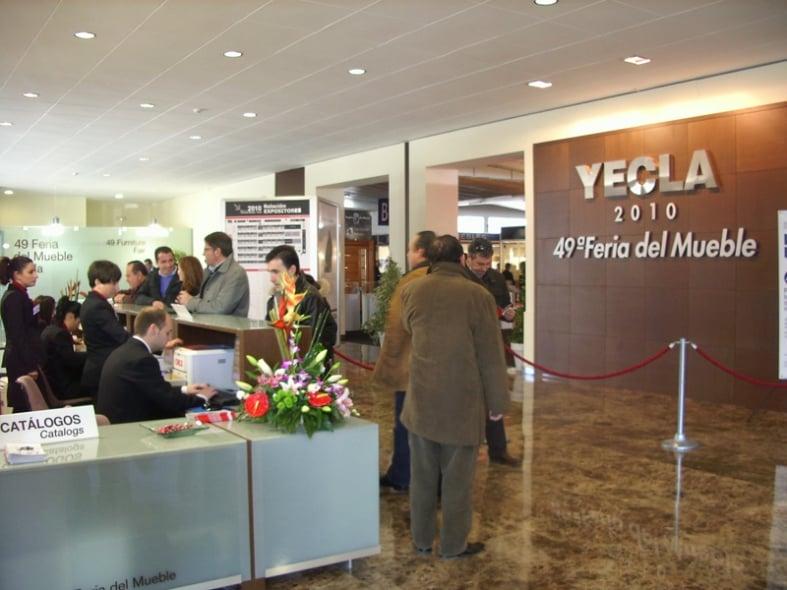 Feria del Mueble Yecla incorpora la tecnología RFID al control de asistentes.