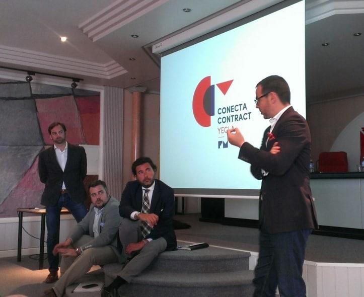 Casi un centenar de empresas acuden a la presentación del proyecto Conecta Contract Yecla.