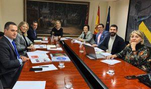 La-FMY-mantiene-una-reunión-de-trabajo-con-la-Consejería-de-Empresa-e-Industria-y-el-INFO