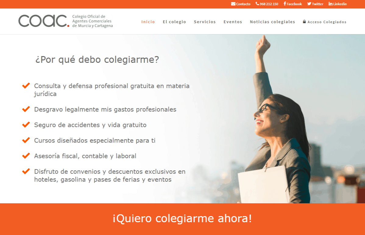 Colegio Oficial de Agente Comerciales en Murcia