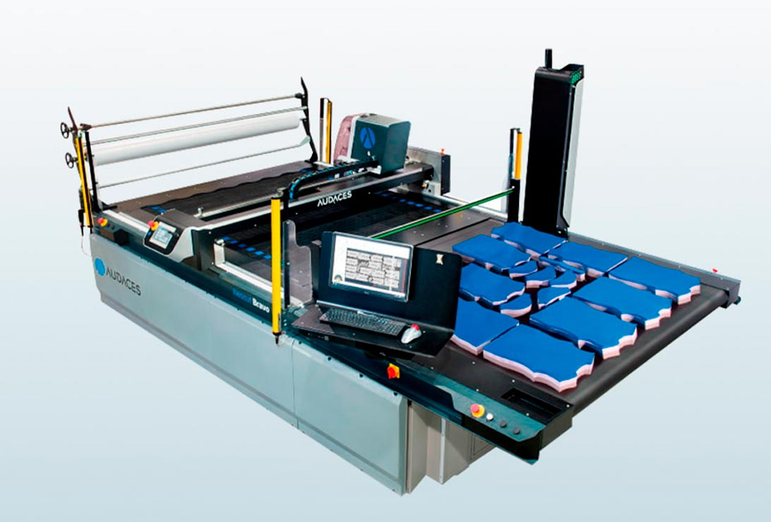Miver Cad Cam Tecnología industrial para tapicería