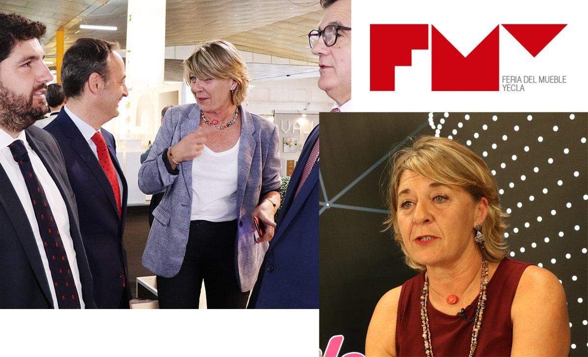 Patricia Cuadrillero es la nueva directora de la Feria del Mueble de Yecla