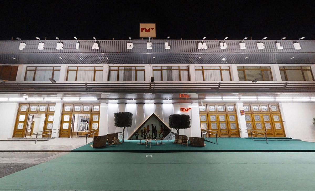 fachada principal de la Feria del Mueble Yecla