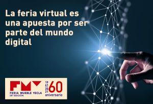 La feria virtual es una apuesta por ser parte del mundo digital FMY
