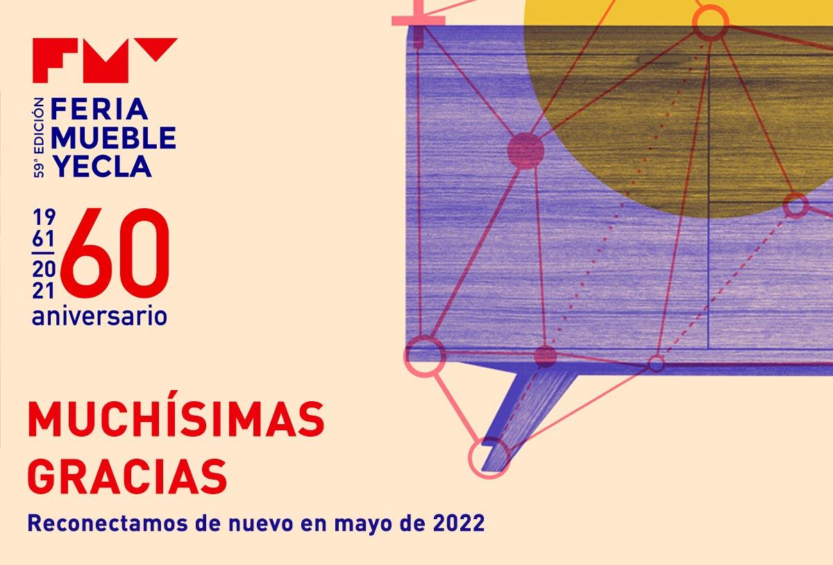 ¡Más de 7.000 gracias por esta edición tan especial de la Feria del Mueble Yecla! Reconectamos de nuevo en mayo de 2022