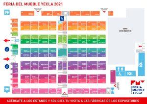 Mapa de las firmas expositoras FMY 2021