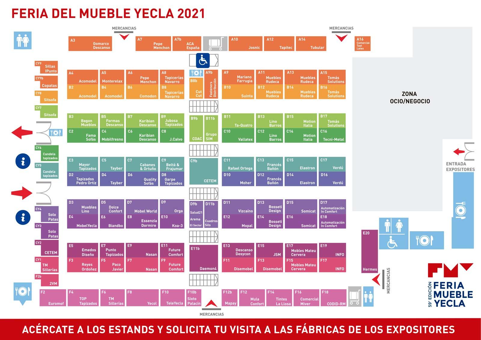 Mapa Estands FMY 2021